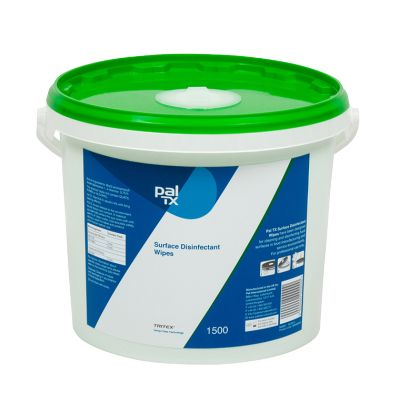 W233230T Pal TX Surface Disinfectant Wipes - 1500 Sheet Bucket