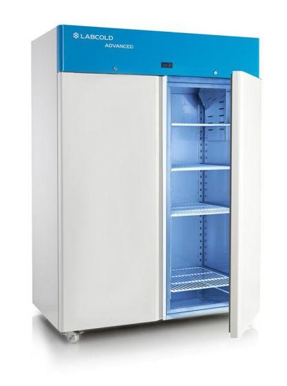Advanced Lab Fridge +2 to +10°C - lockable double door & temp display 1350L