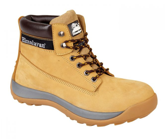 5150 Wheat Himalayan Safety Boots, iconic safety boot, nubuck safety boot