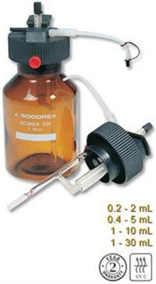 Spare Bottles as supplied with Acurex Low Profile dispensers