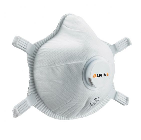 S3-V Alpha S P3 Valved Mask FFP3 - Pack of 5