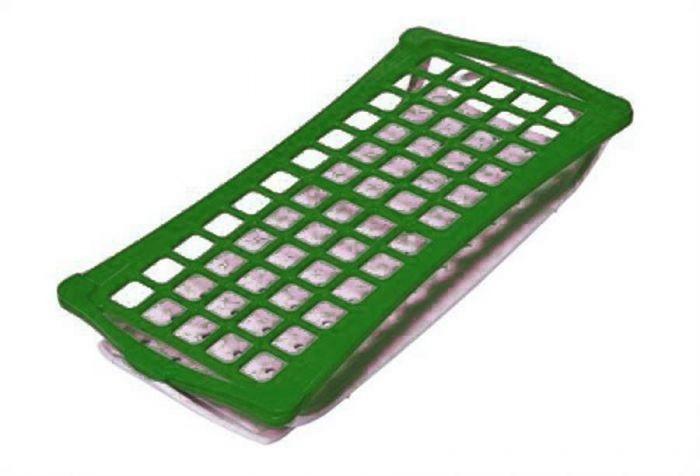 2 Tier Rack For 16mm Tubes Green holds up to 60 tubes-RTP/7021-G-Camlab