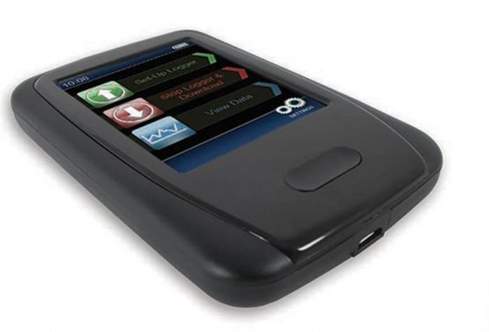 Hand Held Programmer and Data Collector for Brannan USB Dataloggers