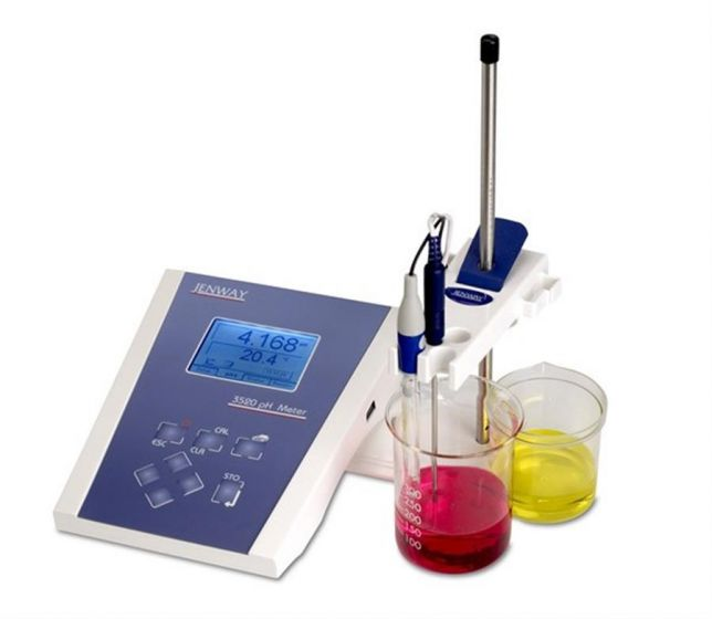 Model 3520 pH/temp meter with  EpoxyTough DJ Comb Electrode