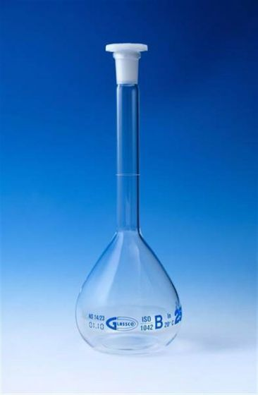 Glass Volumetric Flask Class B