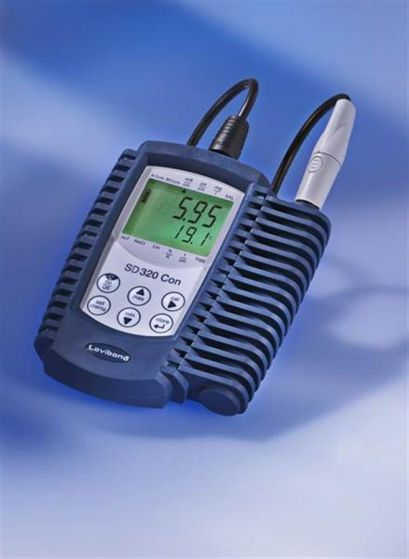 Waterproof portable conductivity meter SD 320