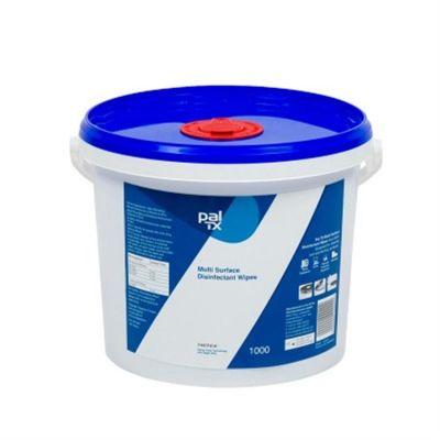 W400110 Pal TX MultiPurpose Sanitising Wipes - 1000 Sheet Bucket - 6L