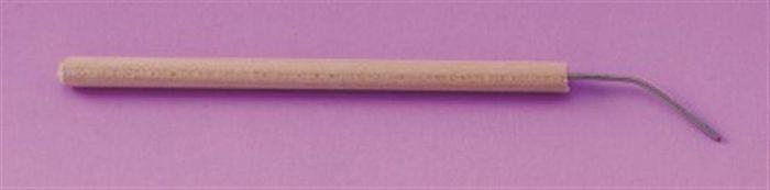 Seeker Wood Handle Bent Needle- each