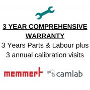 Warranty Plus 3 (3 Years comprehensive warranty and 3 calibration visits) - Memmert excl CTC / TTC-1208181-Camlab