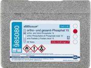 NANOCOLOR ortho & total Phosphate range: 0.30-15.00 mg/L P;  1.0-45.0 mg/L PO43-  20 Tests-985080-Camlab