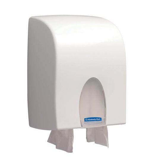 9962 KIMBERLY-CLARK PROFESSIONAL Folded Hand Towel Dispenser - Interleaved - White