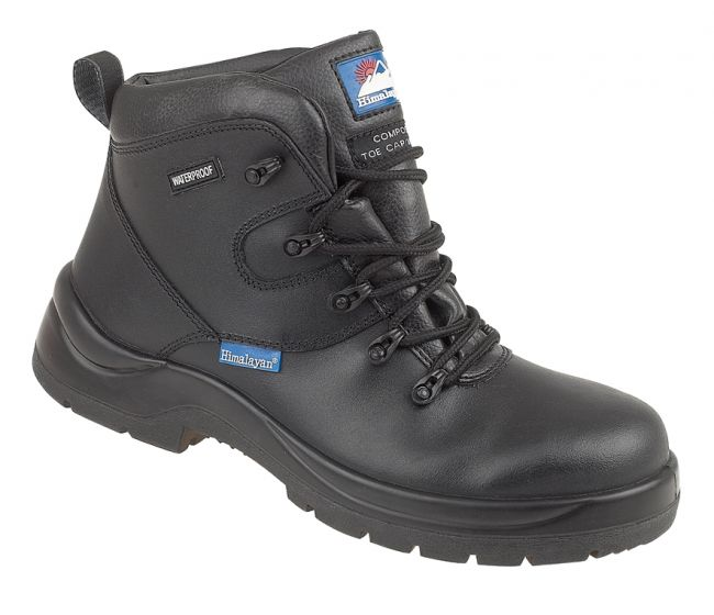 5120 Himalayan Black Safety Boots