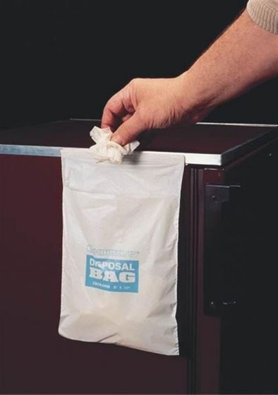Disposable Waste Bags 203x254mm Pack of 50-13174-1008-Camlab