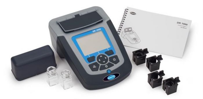 Hach DR1900 Portable Spectrophotometer incl power supply-camlab