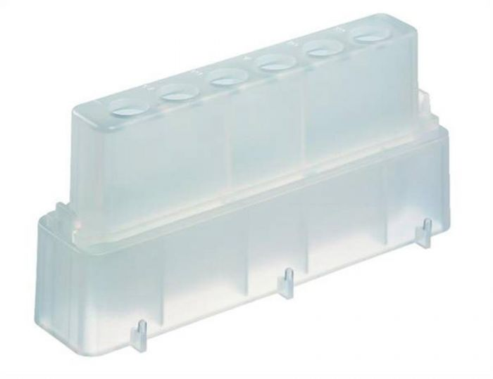 Polypropylene Reservoir 8000 +0.5ml Tube Carrier Set in Natural Pack of 10