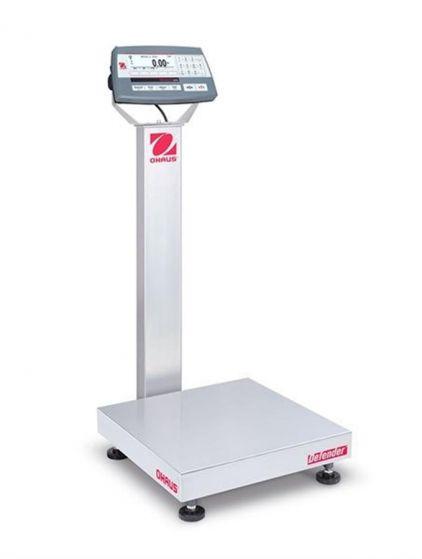 Ohaus 30461547 Defender 5000 Platform Scale Capacity 6kg/15kg Readability 2g/5g M cert-camlab