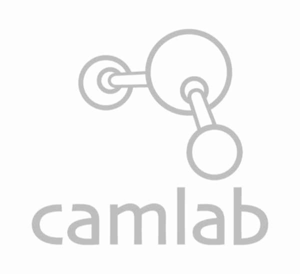 Laboratory Basic 2 Black fabric upholstery lab chair with castors