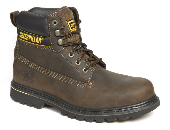 7041 CATERPILLAR BROWN SAFETY BOOTS