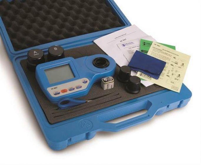 UHR Chlorine Meter kit 0-500 ppmcl