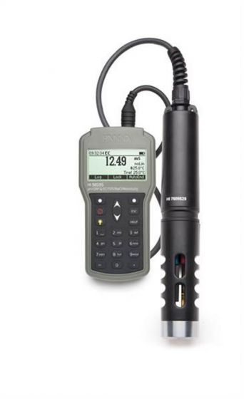 Multiparameter Waterproof Meter pH/EC/temp