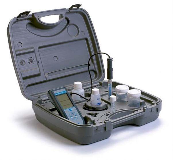 Sension+ PH1, ORP field kit  with 5055 redox electrode, case, buffer set, calibration tube set-LPV2555.98.0002-Camlab