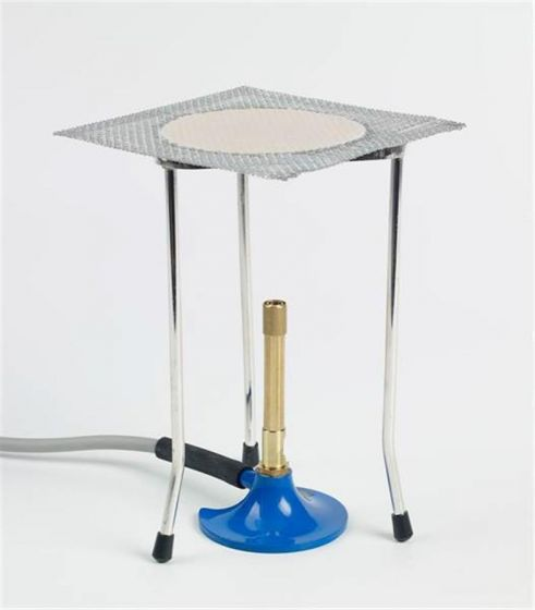 LPG Bunsen Burner Set Complete includes the following: