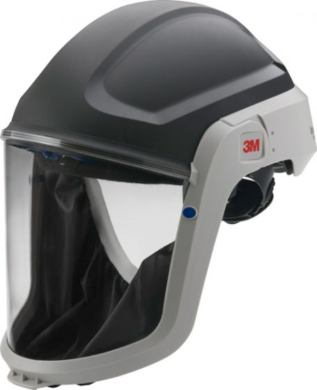 3M Versaflo M-307 Respiratory Headtop with Coated Visor and Flame Resistant Face Seal