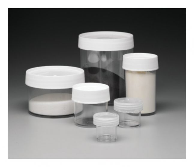 15ml Straight-Side Wide-Mouth Jar PC - Pack of 4