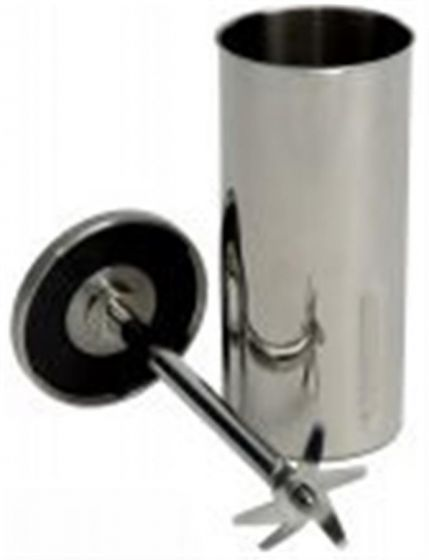 400ml Stainless Steel Chamber  with 2 inch blade and Teflon bearings-camlab