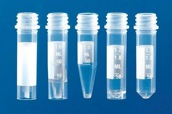 Micro tube (PP) with and without screw cap (PP)