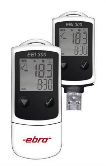 EBI 300 USB-Logger  NTC -30  +70°C with Cal cert