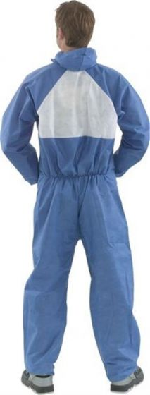 4530 FsR Coverall Blue+White Type 5/6 Pack of 20--Camlab
