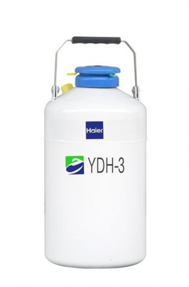 Dry Shipper, 3L,neck opening diameter 50mm round-YDH-3-Camlab