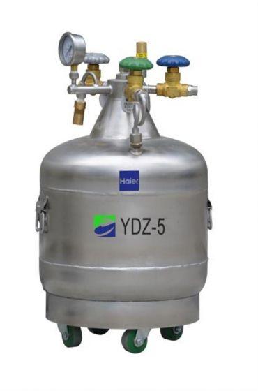 LN2 Self-pressurized Filling tank, 5L,with castor-YDZ-5-Camlab