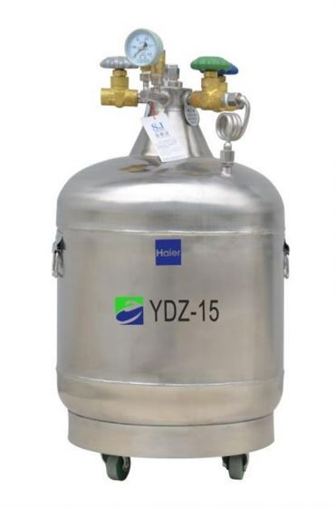 LN2 Self-pressurized Filling tank, 15L,with castor-YDZ-15-Camlab