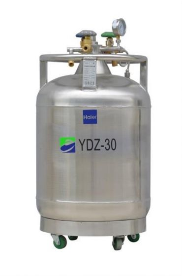 LN2 Self-pressurized Filling tank, 30L,with castor-YDZ-30-Camlab