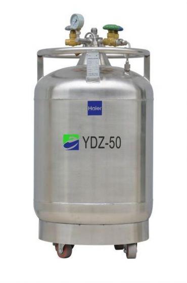LN2 Self-pressurized Filling tank, 50L,with castor-YDZ-50-Camlab