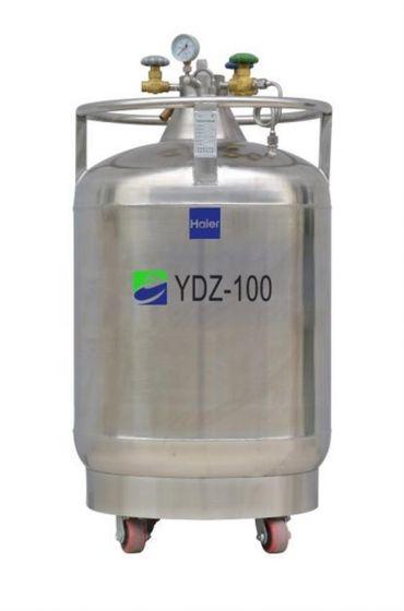 LN2 Self-pressurized Filling tank, 100L with castors, pressure stabilizing system-YDZ-100K-Camlab