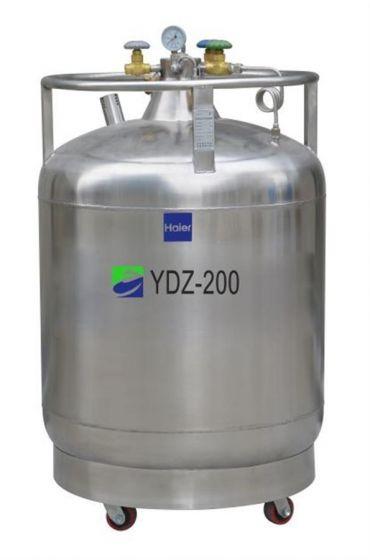 LN2 Self-pressurized Filling tank, 200L with castors, pressure stabilizing system-YDZ-200K-Camlab