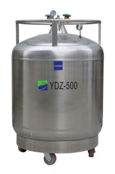 LN2 Self-pressurized Filling tank, 500L with castors-YDZ-500-Camlab