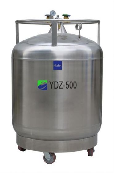 LN2 Self-pressurized Filling tank, 500L with castors, pressure stabilizing system-YDZ-500K-Camlab