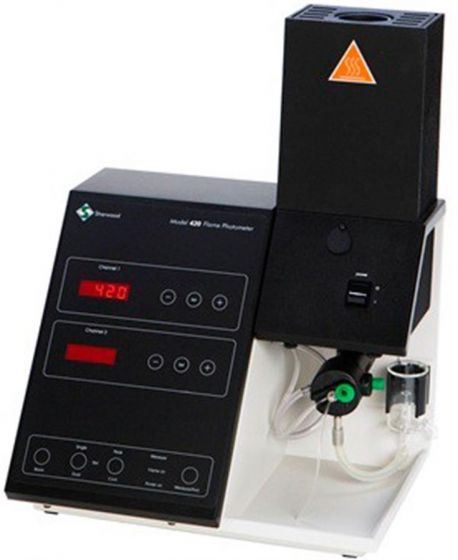 Model 425 Flame Photometer Dual Channel Four Elements