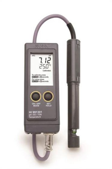 Hanna Conductivity Meter with Electrode High range 0-20 mS/cm