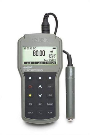 Professional Waterproof EC/TDS/Resistivity/Salinity Meter