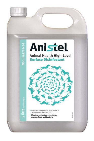 TR105 Anistel Surface Disinfectant Concentrate 5L - Unfragranced