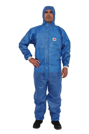 3M 4532+ AR Coverall Blue Type 5/6 Size XXXL Pack of 20