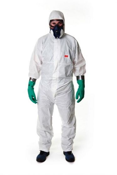 4545 Coverall White Type 5/6 Size XXL Pack of 20-4545W2XL-Camlab