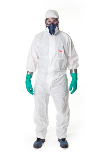 3M 4545 Coverall White Type 5/6 Size XXXXL Pack of 20