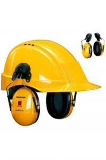 PELTOR Optime I Ear Muff Helmet Attachment Yellow Pack of 20-camlab