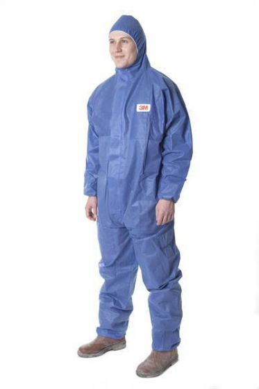 3M 4515 Protective Coverall Blue Type 5/6 - Pack of 20